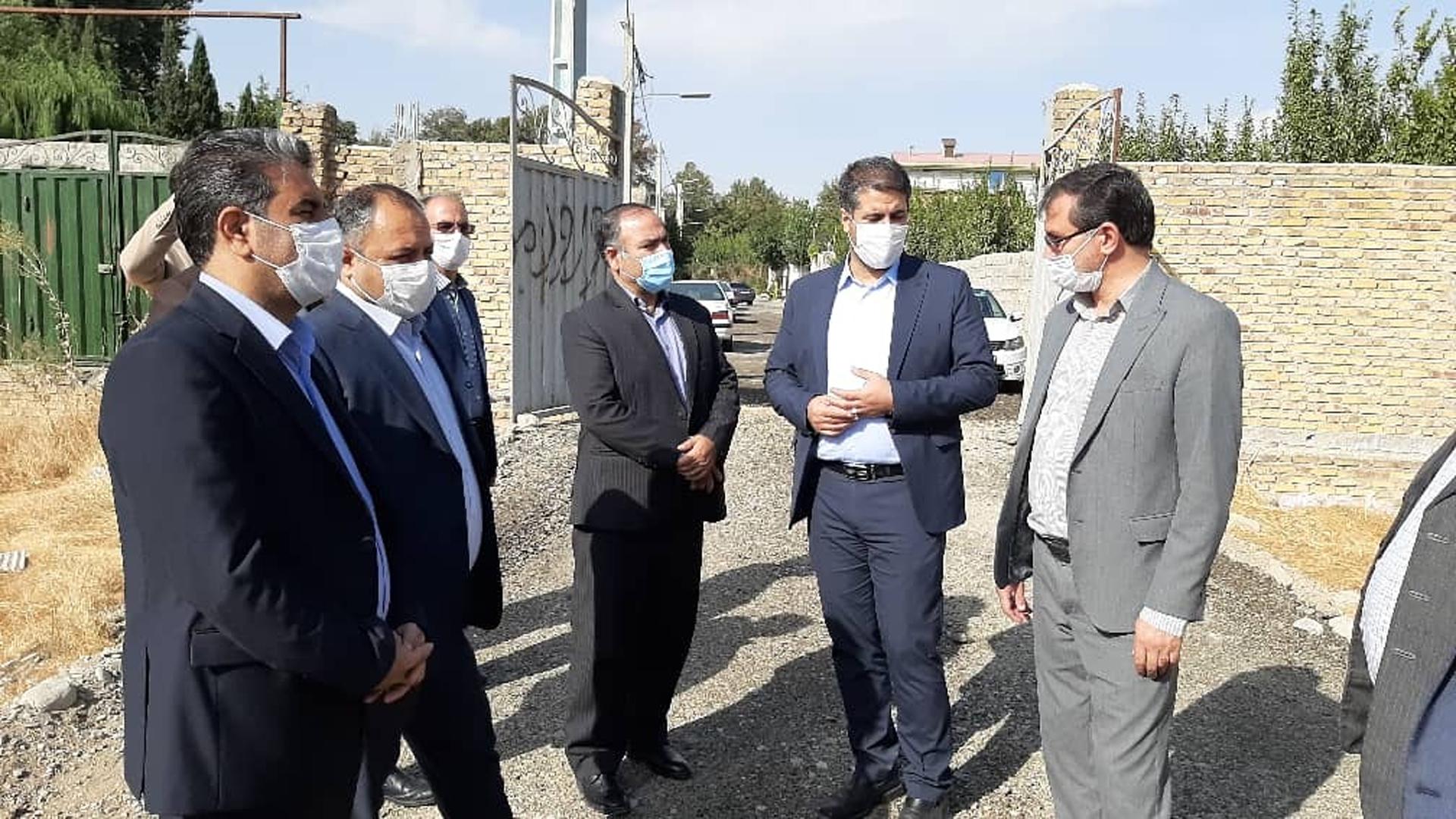 روند ساخت پروژه های شهیدان درخشان و شهیدان هاشمی