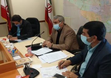 جلسه کمیسیون پیشگیری و مقابله با سرقت با حضور مدیرکل امنیتی استانداری تهران