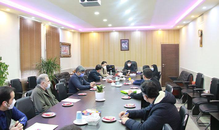برگزاری جلسه ستاد هماهنگی انتخابات بخش مرکزی شهریار