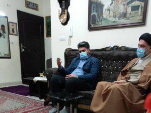 بازدید مسئولین از منزل خانواده های دارای چند معلول در شهرستان ملارد