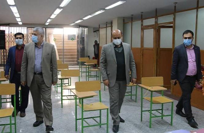 بازدید معاون سیاسی اجتماعی استانداری تهران از مرکز ستاد انتخابات شهرستان شهریار