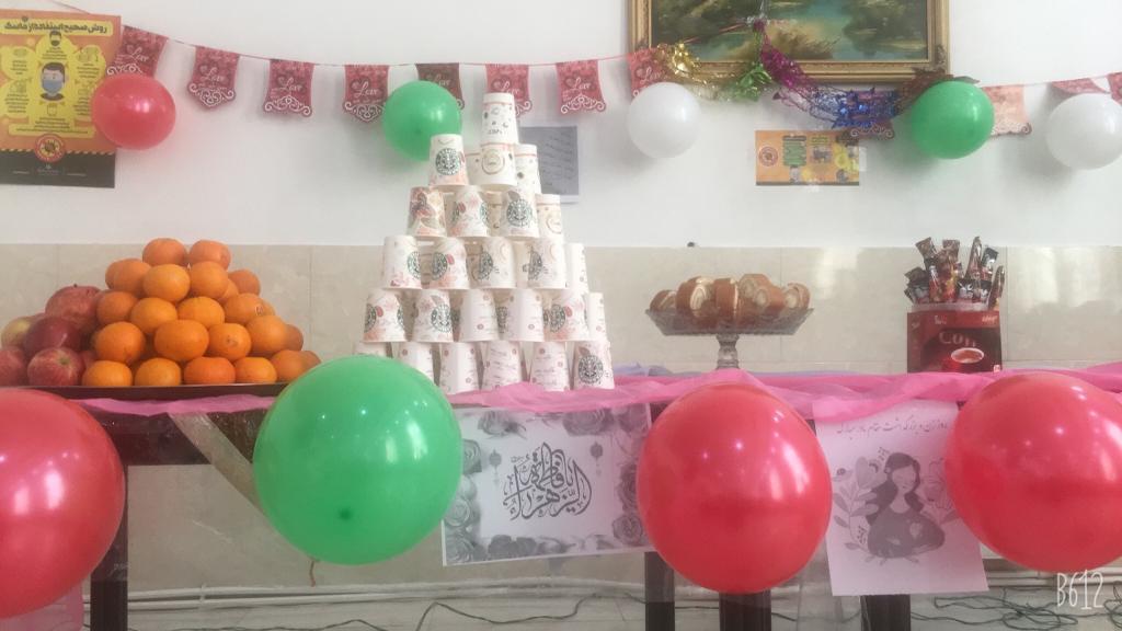 برگزاری مراسم ولادت حضرت فاطمه زهرا (س) در مراکز توانبخشی بهزیستی شهرستان ملارد
