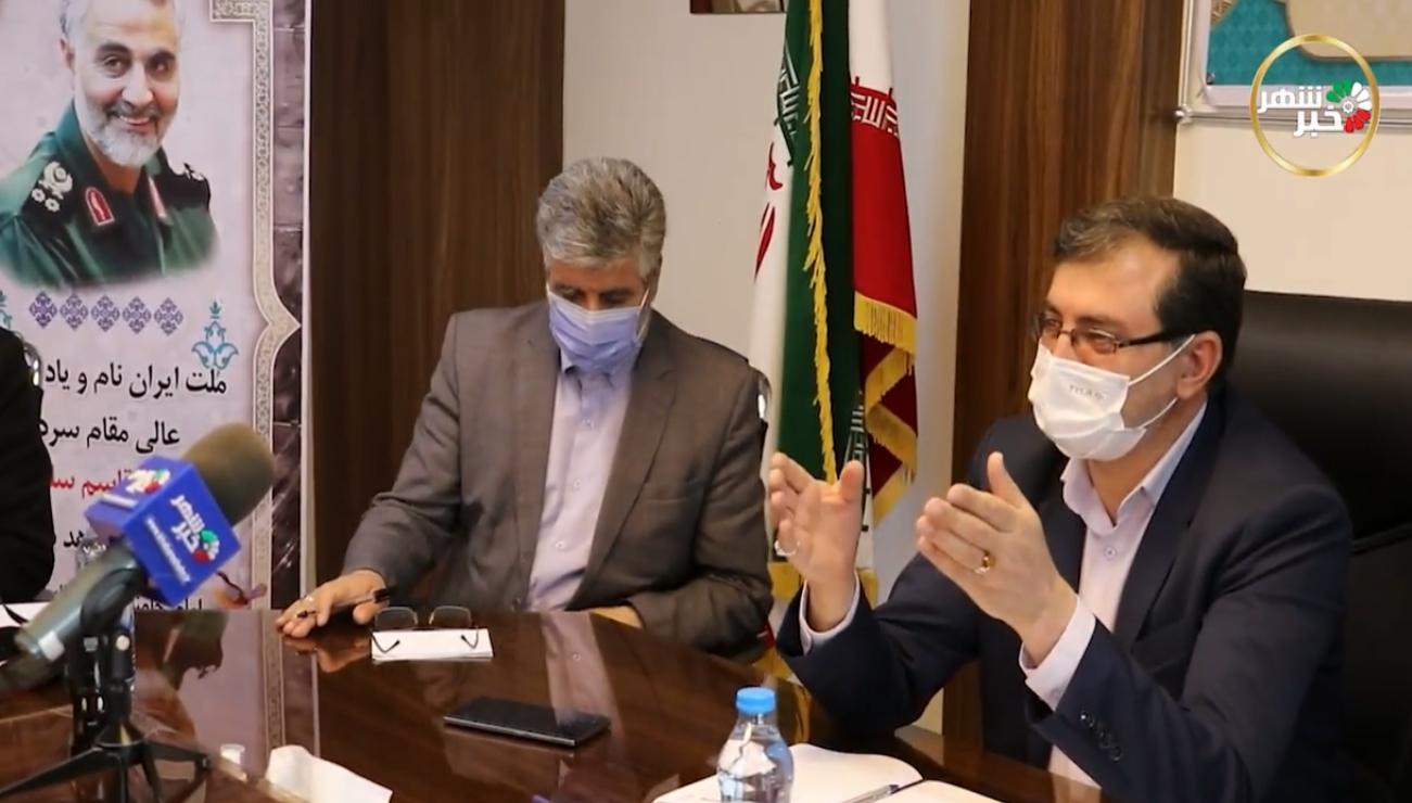 امینی خبرنگار : آقای حق وردی چرا در مقابل تخریبهای جهاد کشاورزی سکوت کردید + فیلم