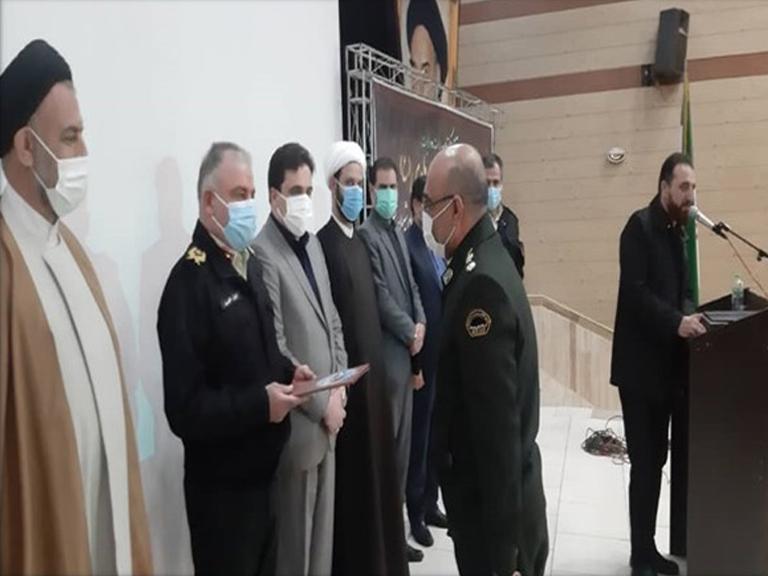 گزارش تصویری آیین تودیع و معارفه فرمانده انتظامی شهرستان ملارد