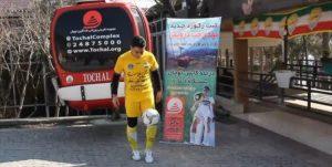 ثبت رکورد جدید از ورزشکار شهریاری/ ۷ و نیم کیلومتر روپایی زدن در ارتفاعات توچال