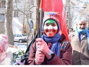 حماسه حضور مردم انقلابی شهرستان شهریار در 22 بهمن 1399 + فیلم