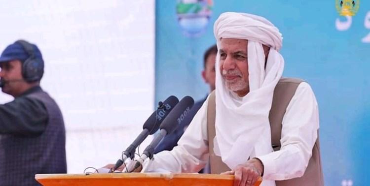 اشرف غنی: حاضر به تبادل نفت و آب با ایران هستیم