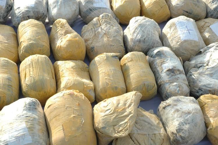 کشف انواع موادمخدر در عملیات مشترک پلیسی