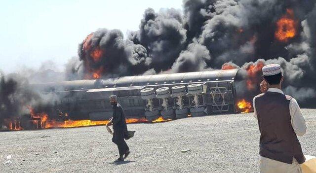 جزئیات آتشسوزی در گمرک مرزی ایران و افغانستان