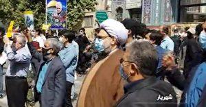 مراسم خودجوش روز قدس در شهریار + تصاویر
