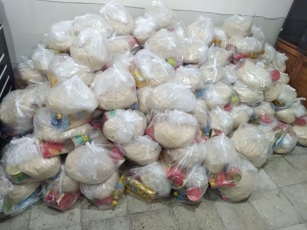 توزيع سبد كالا در ماه مبارك رمضان توسط موسسات خيريه بهزيستي شهرستان ملارد