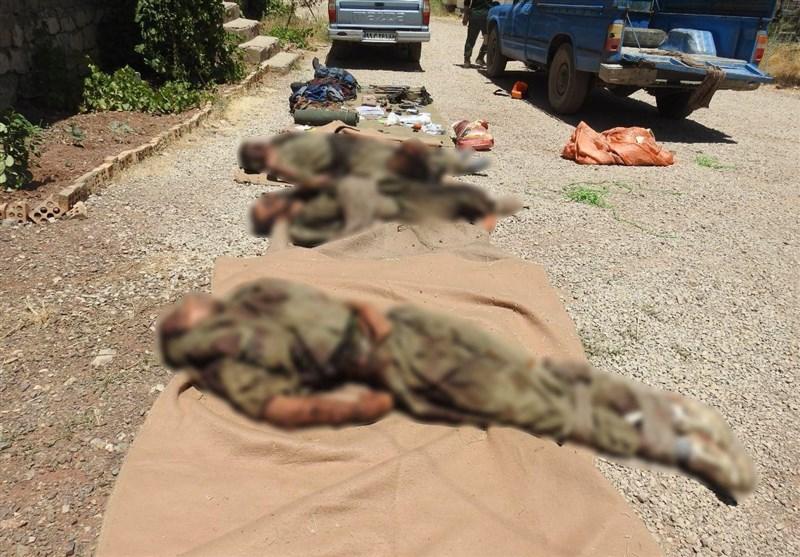 انهدام تیم تروریستی ضدانقلاب در استان کردستان/ ۵ تروریست به هلاکت رسیدند/ اشرار قصد خرابکاری داشتند