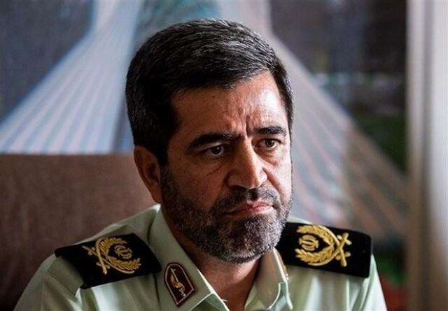 رئیس پلیس امنیت تهران: مقابله با اراذل و اوباش افزایش ۸۰ درصد دارد