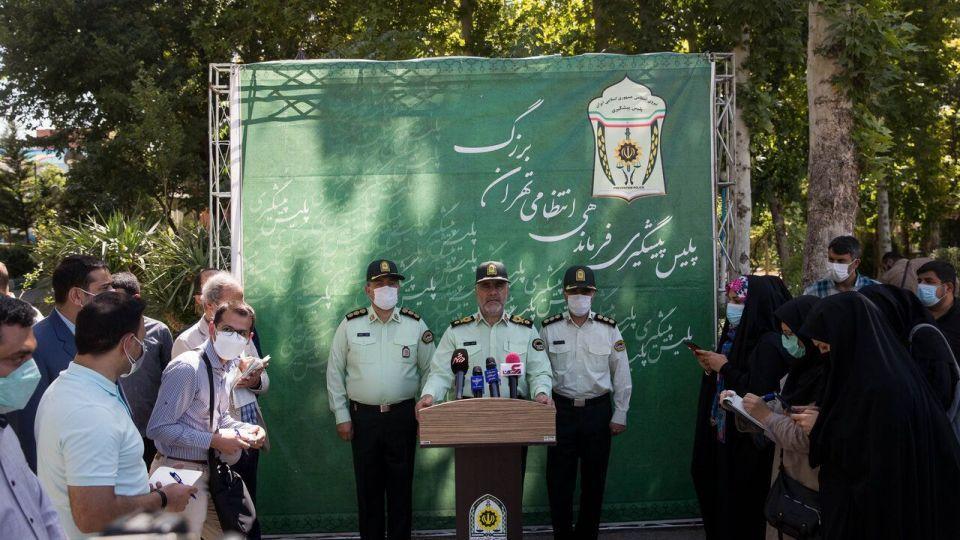 اجرای مرحله ۴۵ طرح رعد پلیس پیشگیری پایتخت + تصاویر