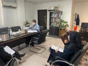 نشست ریاست اداره بهزیستی شهرستان ملارد با حوزه های تخصصی به مناسبت هفته بهزیستی