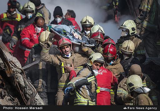 ۱۶ آتشنشان پلاسکو هنوز شهید محسوب نشدند