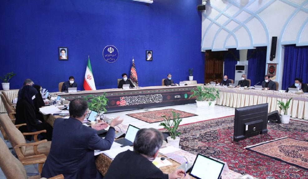 آخرین جلسه رئیسی با وزرای روحانی/ قدردانی رئیسجمهوری از وزرای دولت سابق