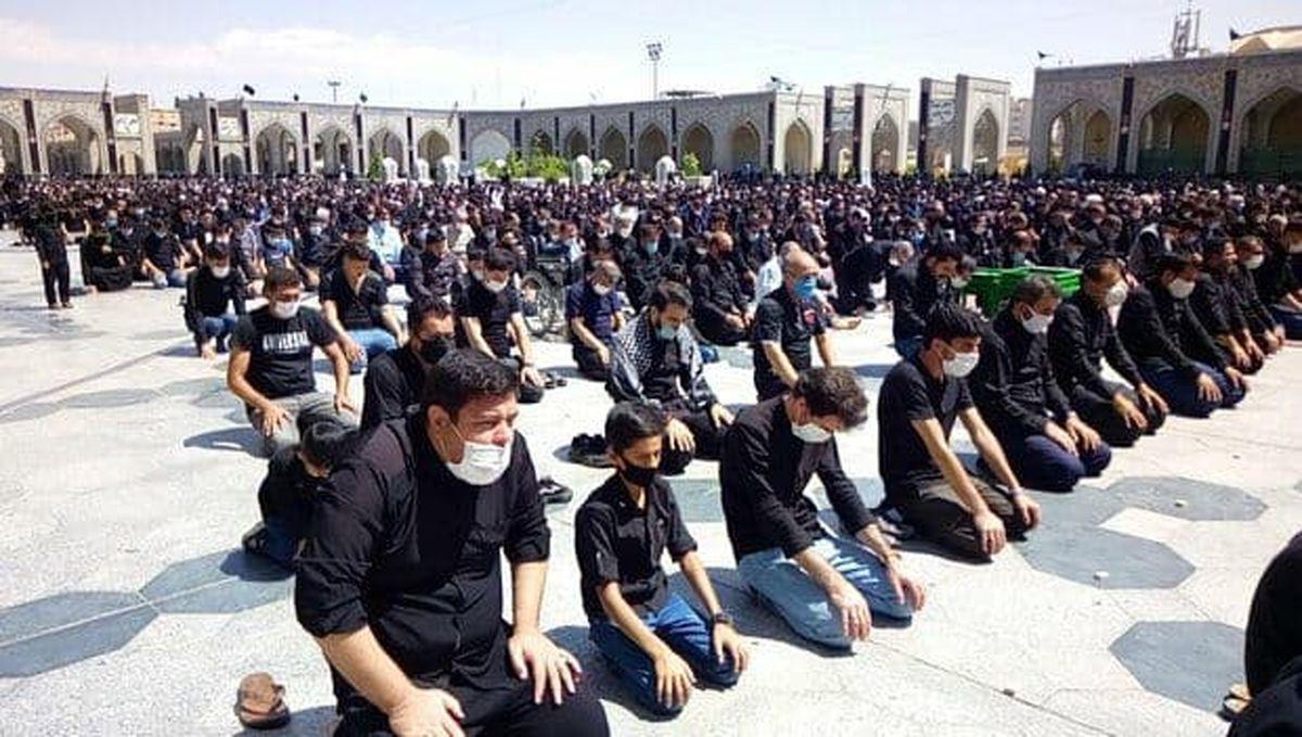 نماز ظهر عاشورا مطابق با شرایط کرونایی برگزار میشود
