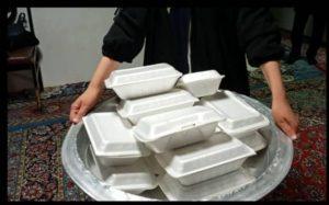 ادامه نهضت اطعام رضوی واحسان حسینی خادمیاران باغستان شهریار
