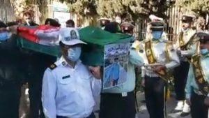 آخرین وداع مردم اصفهان با علی لندی