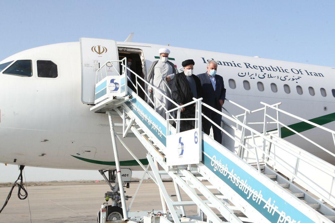 سفر رئیس جمهور به استان ایلام