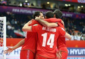 جام جهانی فوتسال  صعود شاگردان ناظمالشریعه به جمع ۸ تیم پایانی با شکست ازبکستان/ ایران حریف تیم «ب» برزیل شد