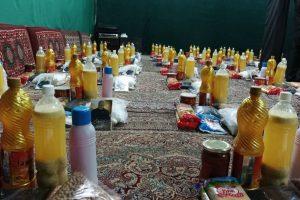 توزیع بسته های معیشتی در آستانه اربعین حسینی