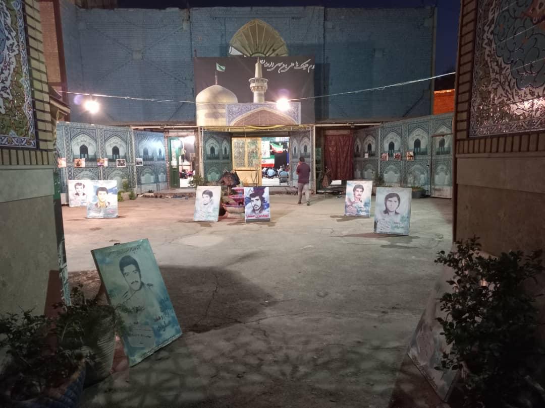 محفل روضه و انس با شهدا به یاد مرحوم حاج محمد کاشانی در ورامین برگزار شد
