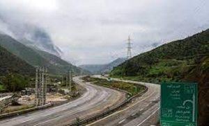 انسداد آزاد راه تهران شمال تا ۶ روز دیگر