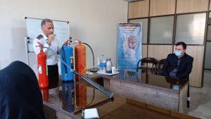 برگزاری جلسه آموزشی  پدافندغیرعامل درشهرستان ملارد