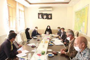 برگزاری جلسه کارگروه تسهیل و رفع موانع تولید شهرستان شهریار