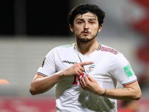سردار آزمون سومین بازیکن هفته مقدماتی جام جهانی ۲۰۲۲ در آسیا