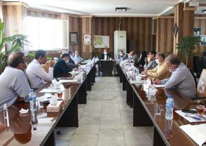 جلسه هماهنگی شهرداران و بخشدارن شهرستان در شهرداری شاهد شهر